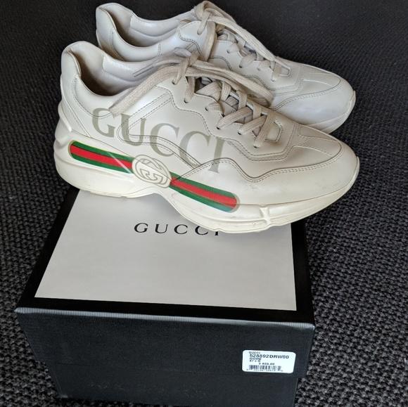c2b5c6f6c76 Gucci Shoes - Gucci rhyton leather sneaker